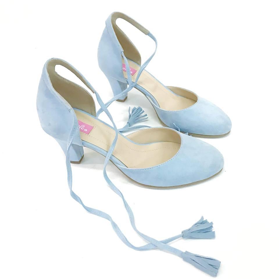 Pantofi Baby Blue