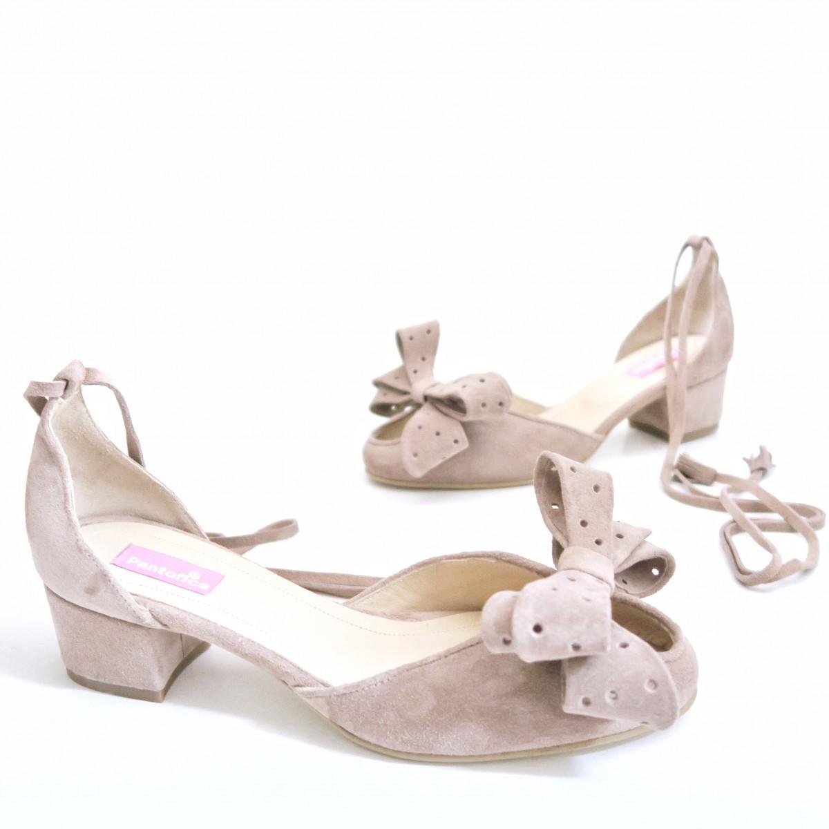 Pantofi Nymphe With Bow