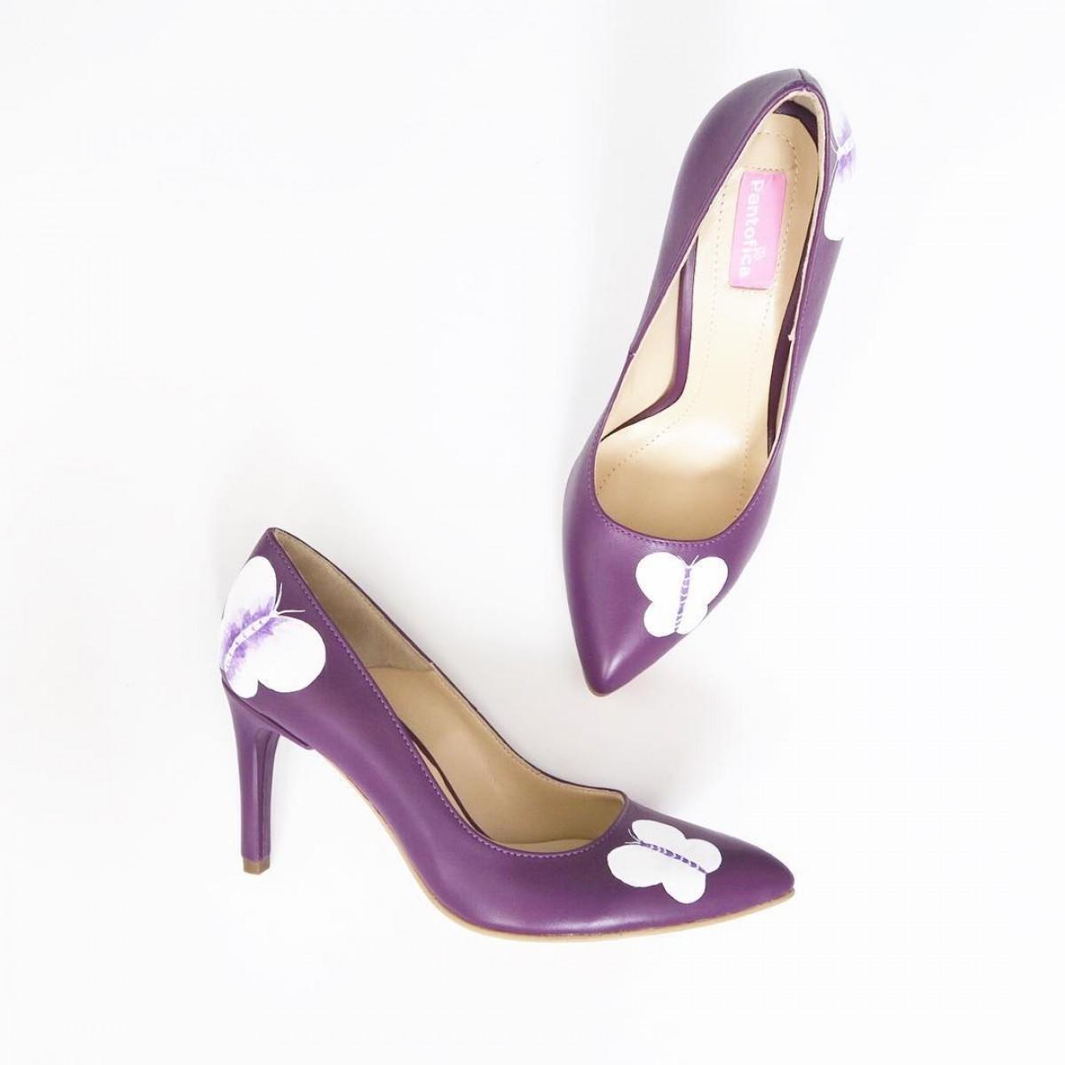 Pantofi Jelly HandPainted