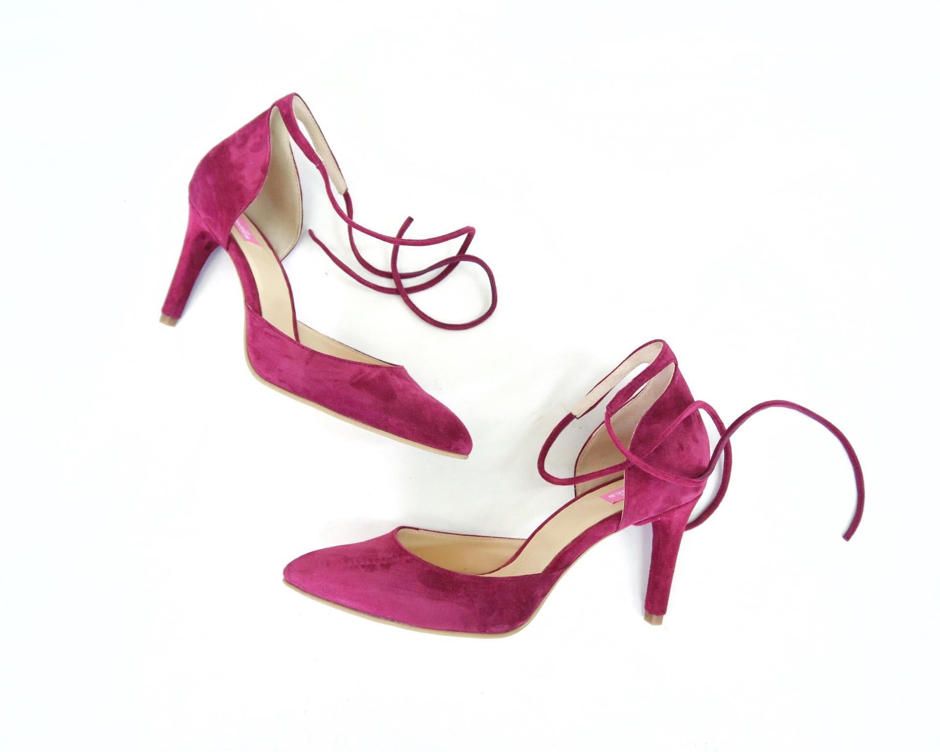 Pantofi Ankle Bow Comfy...