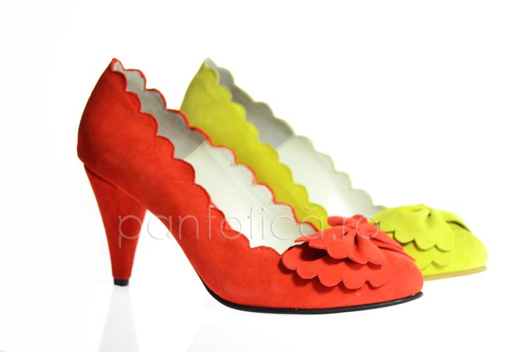 Pantofi Lace