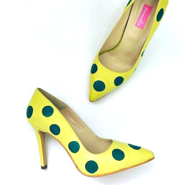 Pantofi Stiletto Dots
