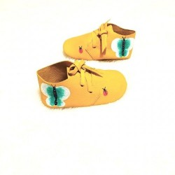 Pantofica Bebe Newborn Handpainted