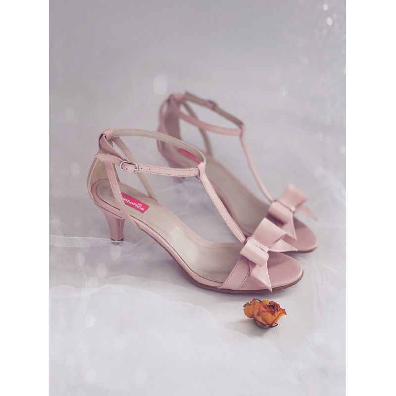 Sandale Delicate Thin Bow Comfy