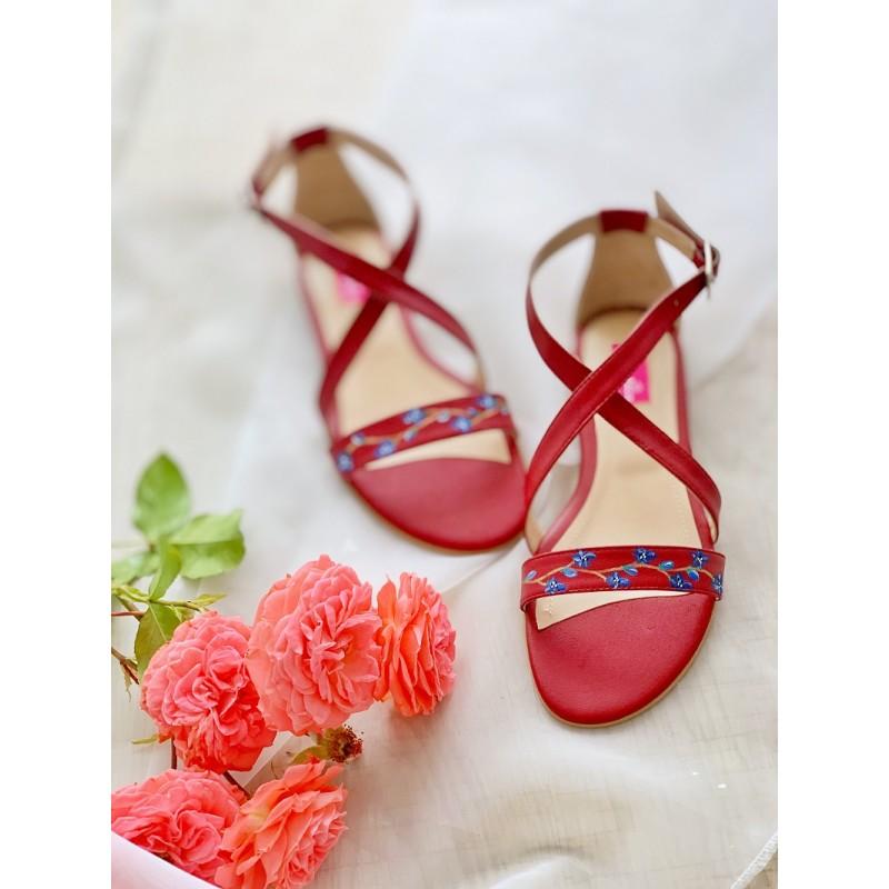 Sandale Belle Handpainted