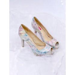 Pantofi Pastel