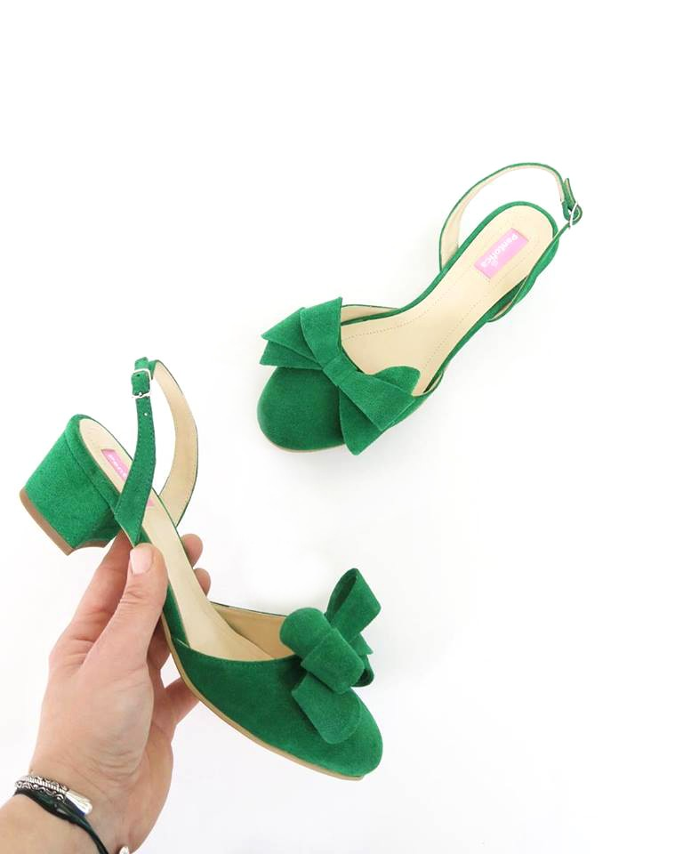 Pantofi Iris With Bow for...