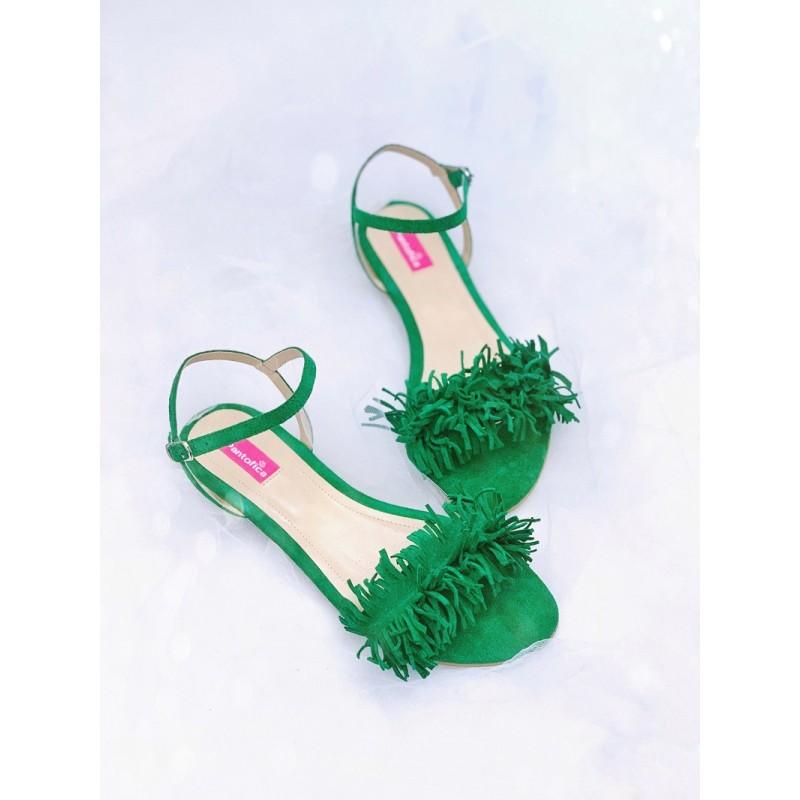 Sandale Happy Fluffy Open Heel