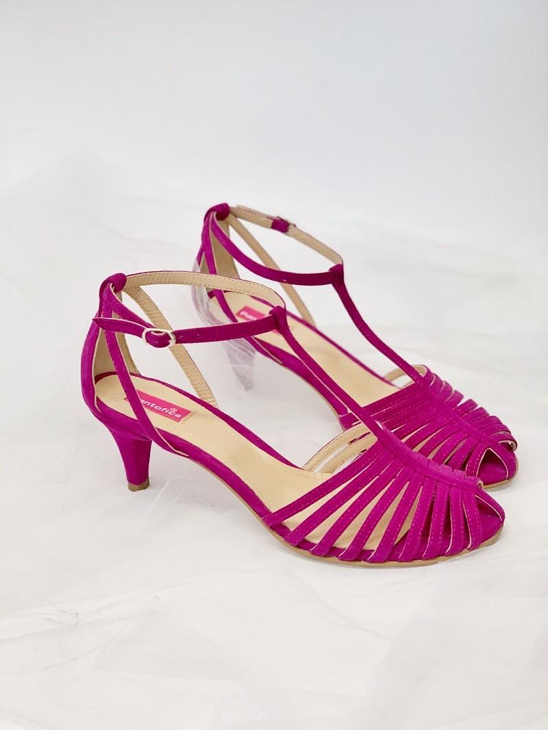 Sandale Edgy Comfy toc subtire