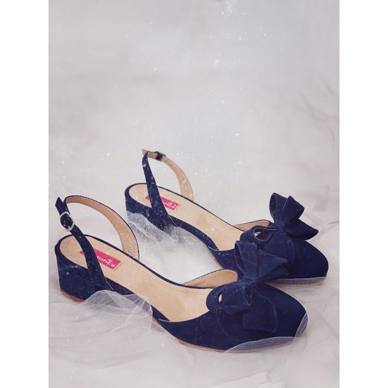 Pantofi Iris With Bow for Summer