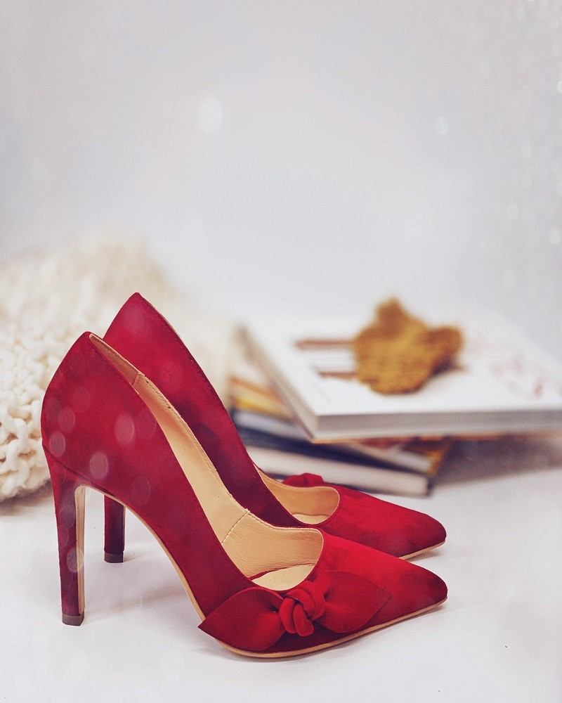 Pantofi Perfection with Bow