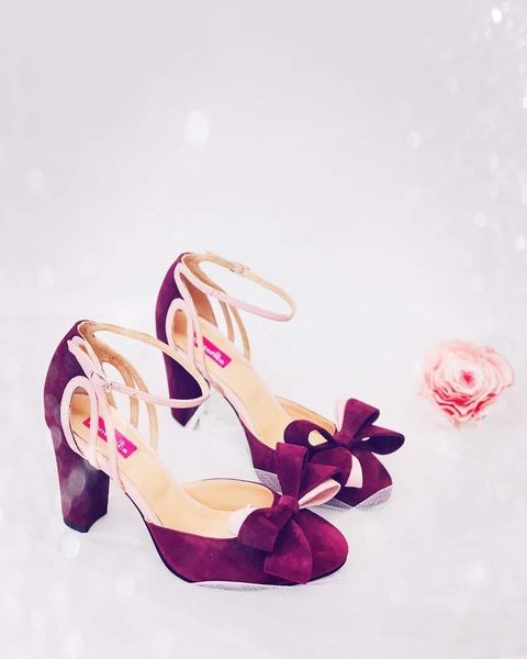 Pantofi Goldie with Bow