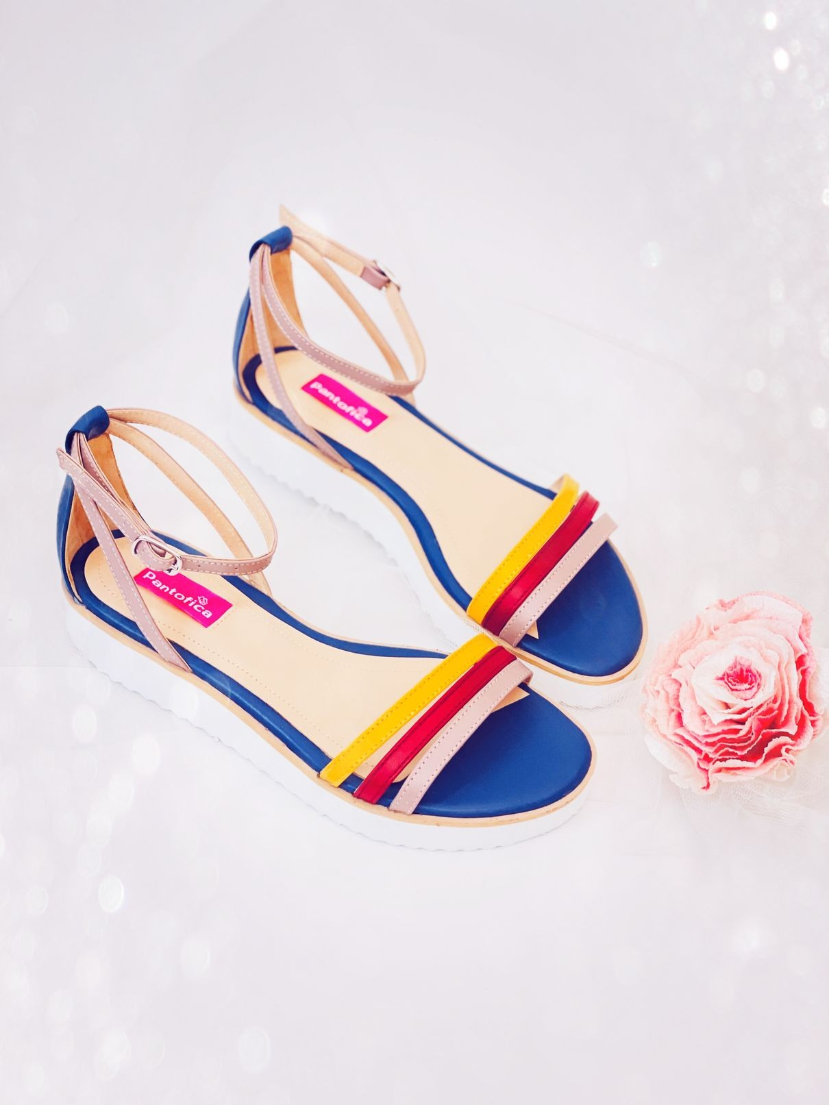 Sandale Pastels