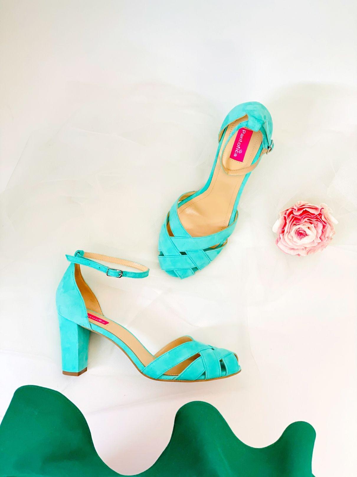 Sandale Shine toc Gros