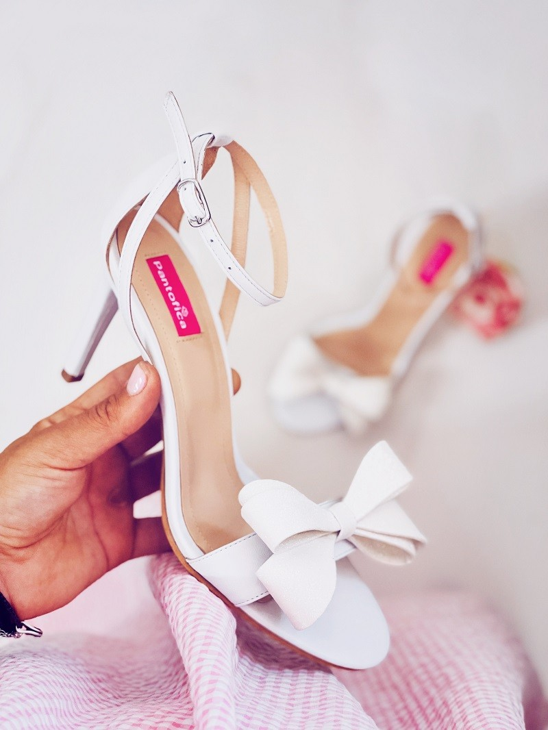 Sandale Delicate Oversized Bow