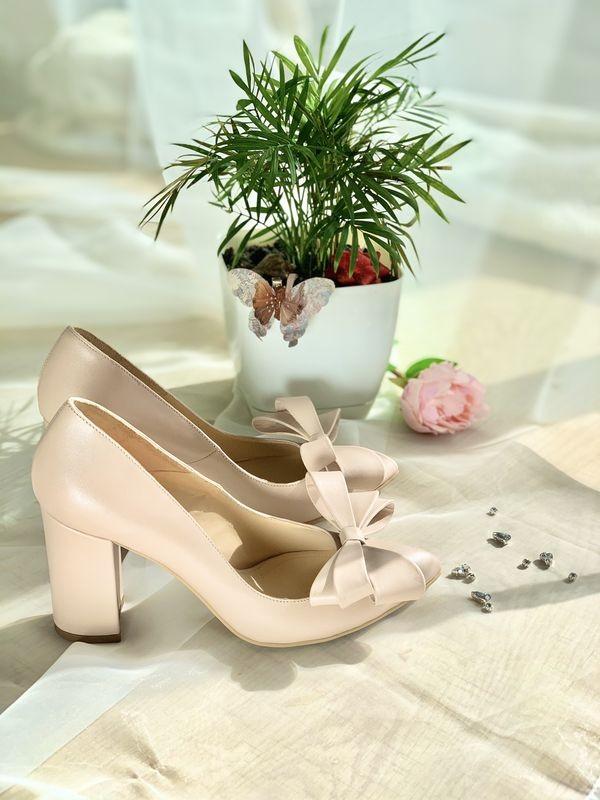 Pantofi BeKind with bow
